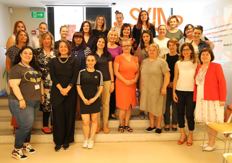 WOMEN'S RIGHTS ACTIVISTS FROM WESTERN BALKANS DEVELOP A STUDY VISIT TO VILNIUS IN LITHUANIA